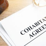 Do I Need A Cohabitation Agreement?- document with a the words Cohabitation Agreement + a pen